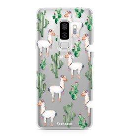 FOONCASE Samsung Galaxy S9 Plus - Lama