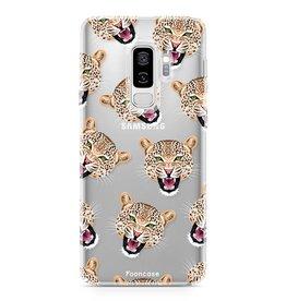 FOONCASE Samsung Galaxy S9 Plus - Cheeky Leopard