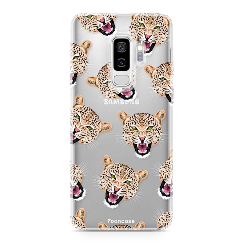 Samsung Samsung Galaxy S9 Plus Handyhülle - Cheeky Leopard