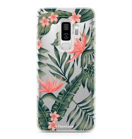FOONCASE Samsung Galaxy S9 Plus - Tropical Desire