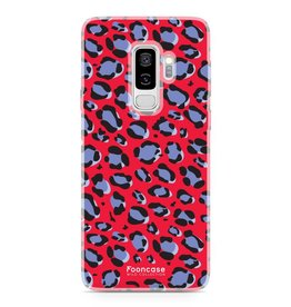FOONCASE Samsung Galaxy S9 Plus - WILD COLLECTION / Red
