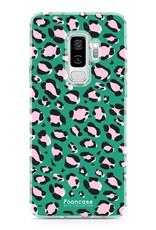 FOONCASE Samsung Galaxy S9 Plus - WILD COLLECTION / Grün