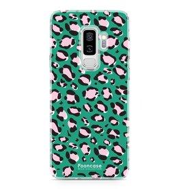 Apple Samsung Galaxy S9 Plus - WILD COLLECTION / Groen