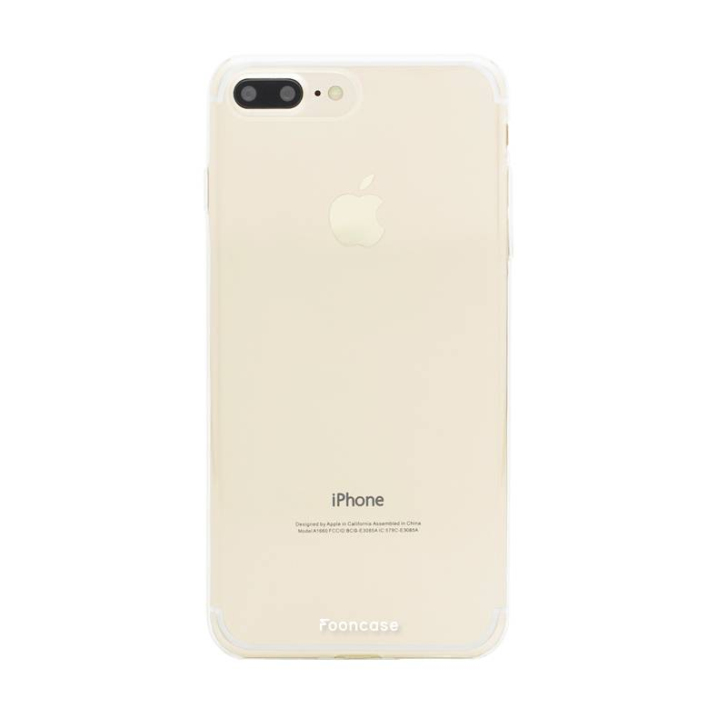 Apple Iphone 7 Plus Hülle - Transparant