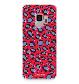 FOONCASE Samsung Galaxy S9 - WILD COLLECTION / Rood