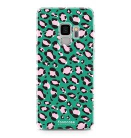 FOONCASE Samsung Galaxy S9 - WILD COLLECTION / Groen