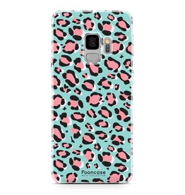 FOONCASE Samsung Galaxy S9 - WILD COLLECTION / Blauw