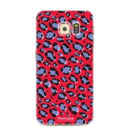 FOONCASE Samsung Galaxy S6 - WILD COLLECTION / Rood
