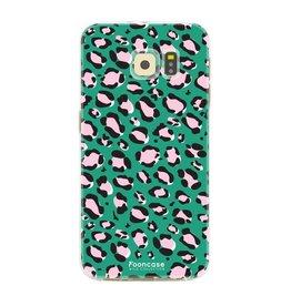 FOONCASE Samsung Galaxy S6 - WILD COLLECTION / Groen