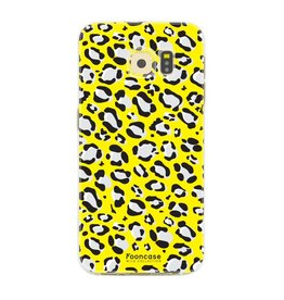 FOONCASE Samsung Galaxy S6 Edge - WILD COLLECTION / Yellow
