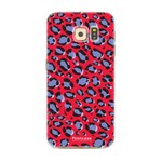 FOONCASE Samsung Galaxy S6 Edge - WILD COLLECTION / Rot