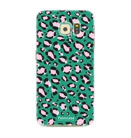 Apple Samsung Galaxy S6 Edge - WILD COLLECTION / Green