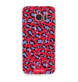 Apple Samsung Galaxy  S7 Edge - WILD COLLECTION / Rood