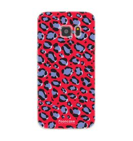 FOONCASE Samsung Galaxy S7 - WILD COLLECTION / Rood
