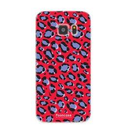 FOONCASE Samsung Galaxy S7 - WILD COLLECTION / Rosso