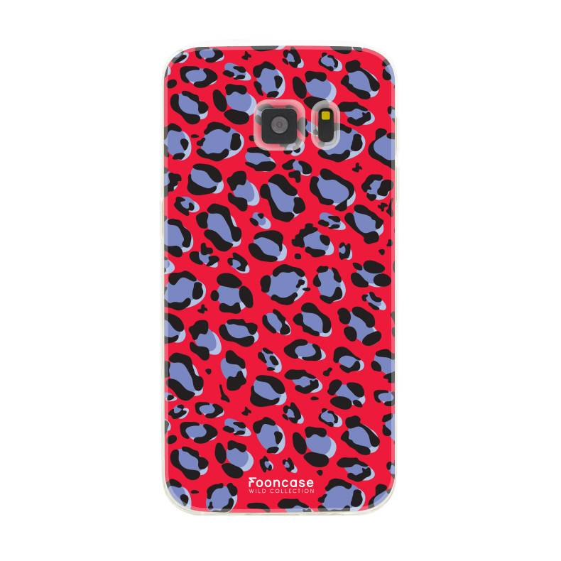 Apple Samsung Galaxy S7 - WILD COLLECTION / Rot