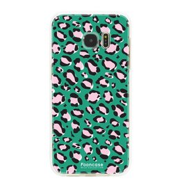 FOONCASE Samsung Galaxy S7 Edge - WILD COLLECTION / Grün