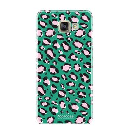 FOONCASE Samsung Galaxy A5 2017 - WILD COLLECTION / Groen