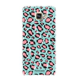 FOONCASE Samsung Galaxy A5 2017 - WILD COLLECTION / Blauw