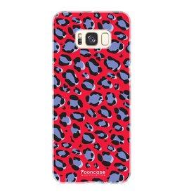 FOONCASE Samsung Galaxy S8 - WILD COLLECTION / Rood