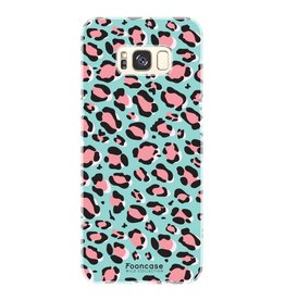 FOONCASE Samsung Galaxy S8 - WILD COLLECTION / Blauw