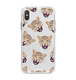 FOONCASE Iphone XS - Cheeky Leopard