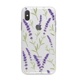 Apple Iphone XS - Purple Flower