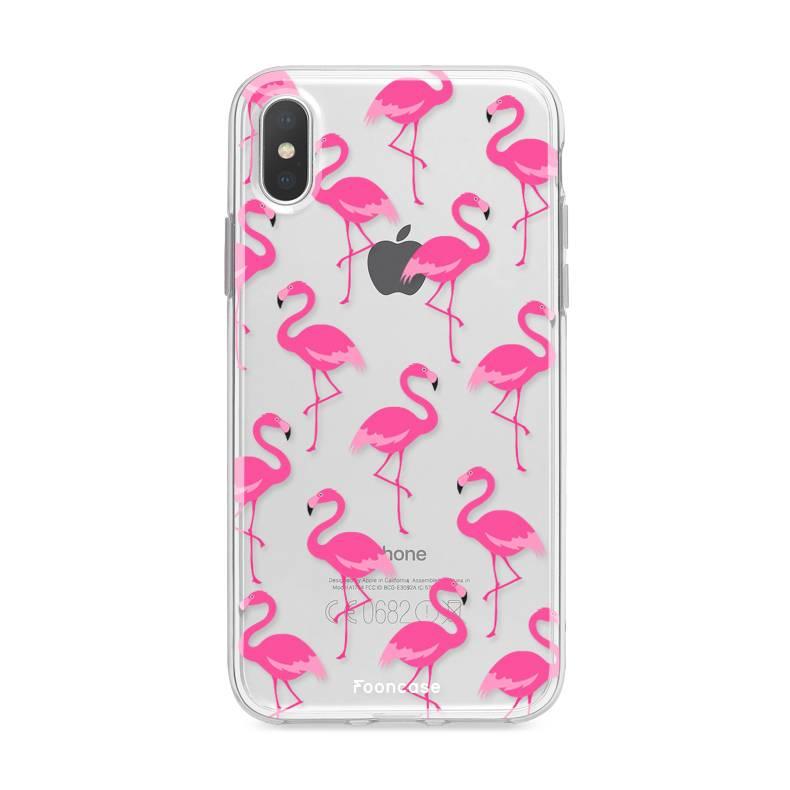 FOONCASE Iphone XS Handyhülle - Flamingo