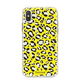 FOONCASE Iphone XS - WILD COLLECTION / Geel