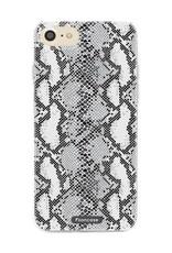FOONCASE iPhone 8 hoesje TPU Soft Case - Back Cover - Snake it / Slangen print