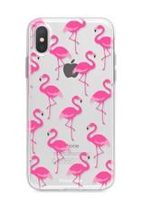 FOONCASE Iphone XS Max Handyhülle - Flamingo