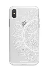FOONCASE iPhone XS Max hoesje TPU Soft Case - Back Cover - Mandala / Ibiza