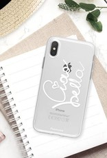 FOONCASE iPhone XS Max hoesje TPU Soft Case - Back Cover - Ciao Bella!