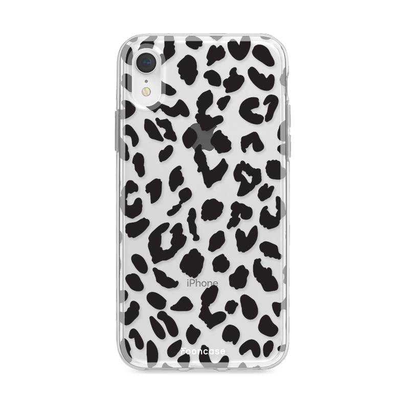 Apple Iphone XR hoesje - Luipaard print