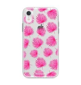 Apple Iphone XR - Pink leaves