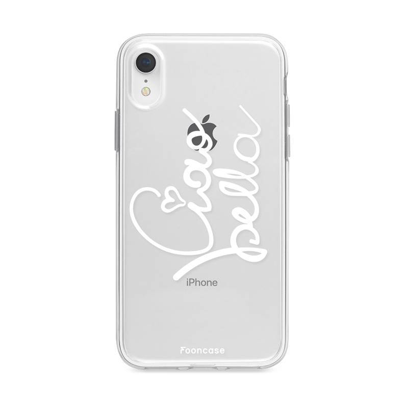 FOONCASE iPhone XR hoesje TPU Soft Case - Back Cover - Ciao Bella!