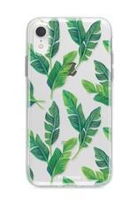 Apple Iphone XR hoesje - Banana leaves