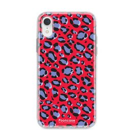 FOONCASE Iphone XR - WILD COLLECTION / Rood