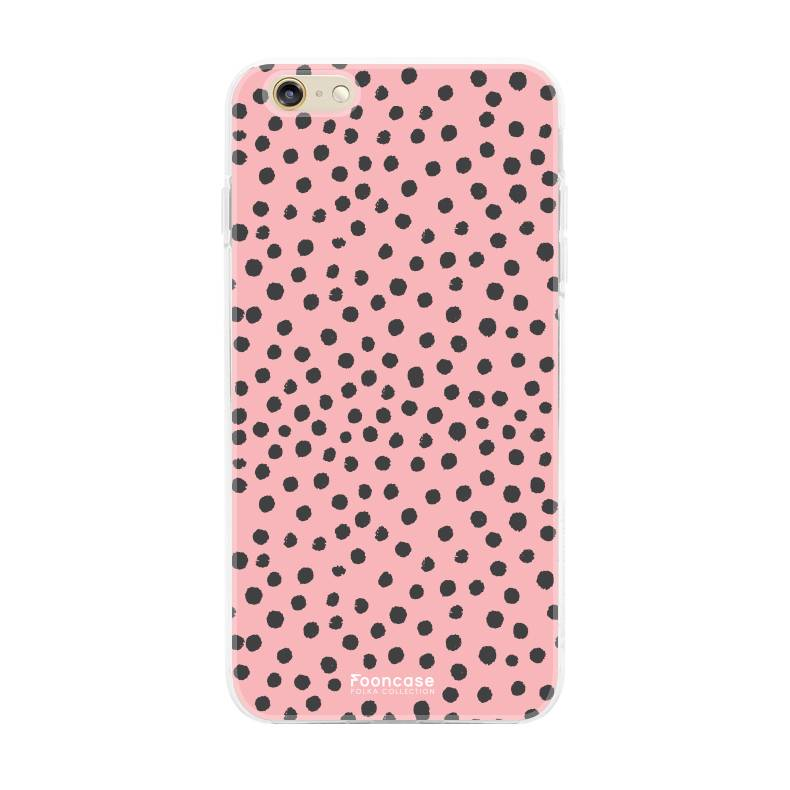Apple Iphone 6 / 6S - POLKA COLLECTION / Roze