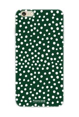 Apple Iphone 6 / 6S - POLKA COLLECTION / Donker Groen
