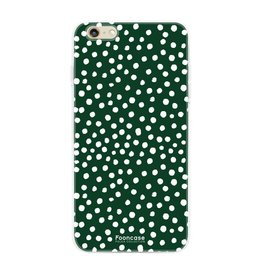 Apple Iphone 6/6s - POLKA COLLECTION / Dunkelgrün