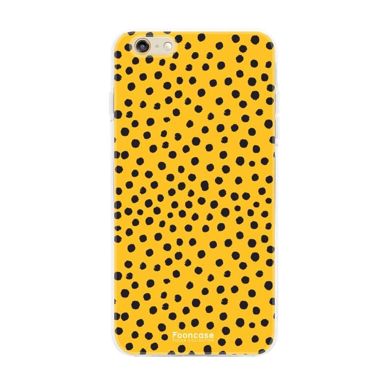 Apple Iphone 6/6s - POLKA COLLECTION / Ockergelb