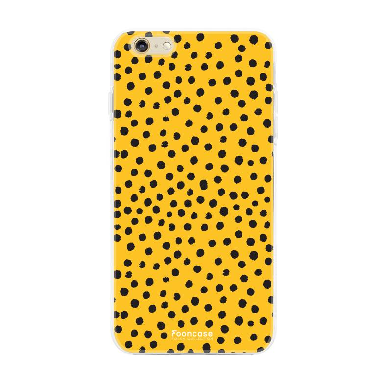 Apple Iphone 6 / 6S - POLKA COLLECTION / Oker Geel