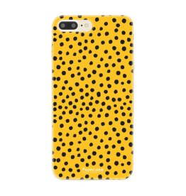 Apple Iphone 7 Plus - POLKA COLLECTION / Ockergelb