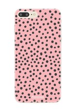 Apple Iphone 8 Plus - POLKA COLLECTION / Roze