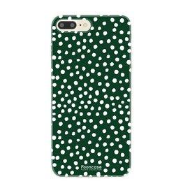 FOONCASE Iphone 8 Plus - POLKA COLLECTION / Dark green