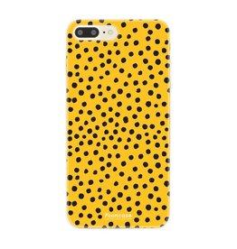FOONCASE Iphone 8 Plus - POLKA COLLECTION / Giallo ocra