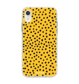 Apple Iphone XR - POLKA COLLECTION / Ockergelb