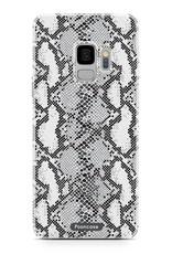 FOONCASE Samsung Galaxy S9 hoesje TPU Soft Case - Back Cover - Snake it / Slangen print