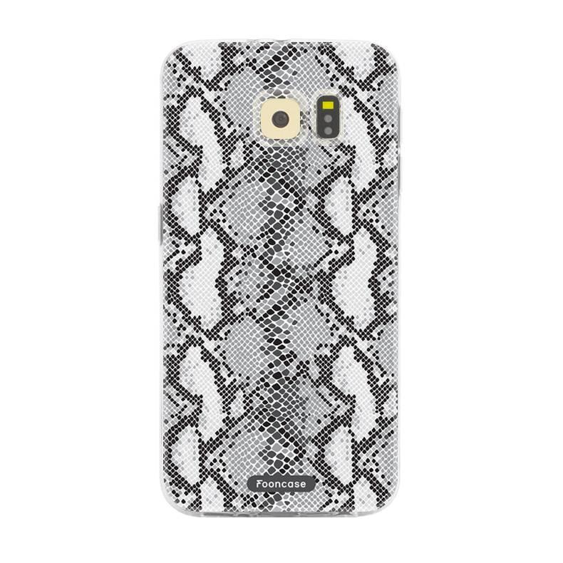 FOONCASE Samsung Galaxy S6 Edge Handyhülle - Snake it!